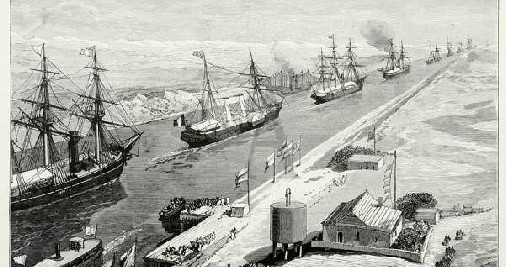the opening of the suez canal